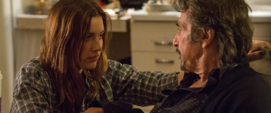 The Humbling film frame with Al Pacino