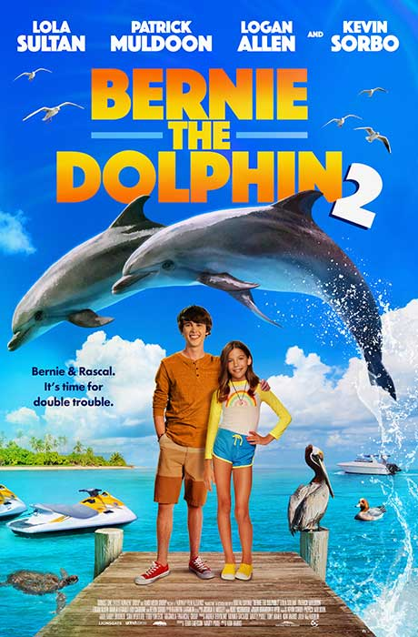 Bernie the Dolphin 2 official movie poster