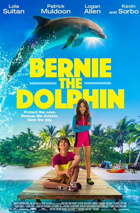 Bernie the Dolphin official movie poster