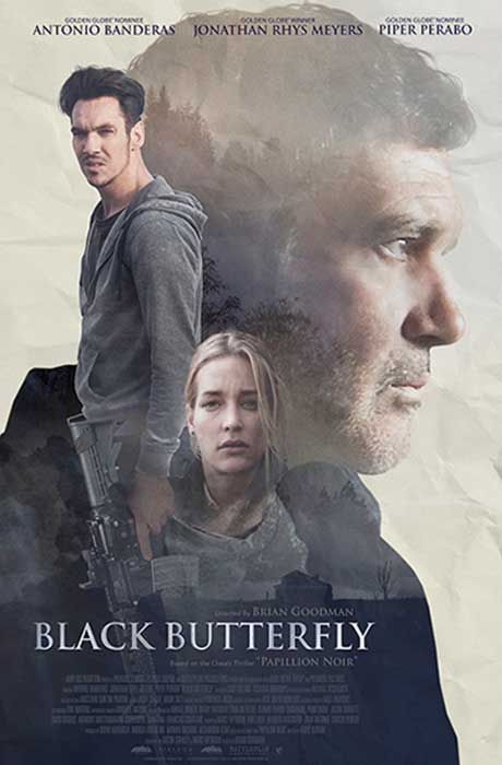 Black Butterfly official movie poster