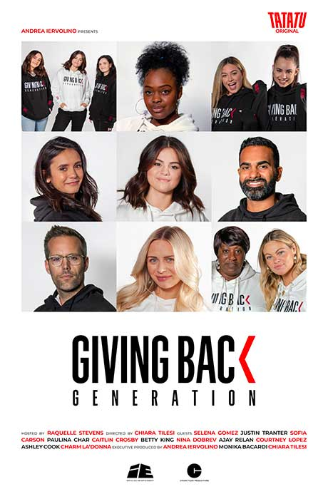 Affiche officielle du film Giving back generation