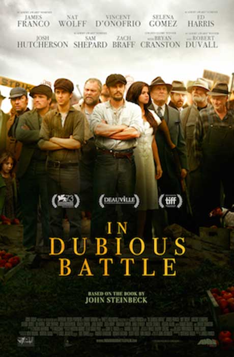 Affiche officielle du film In Dubious Battle