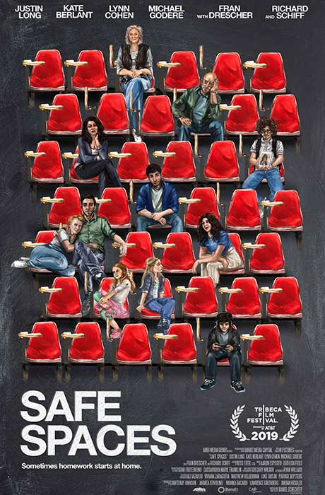 Affiche officielle du film Safe Spaces