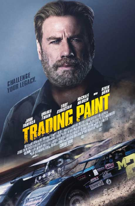 Affiche officielle du film Trading Paint