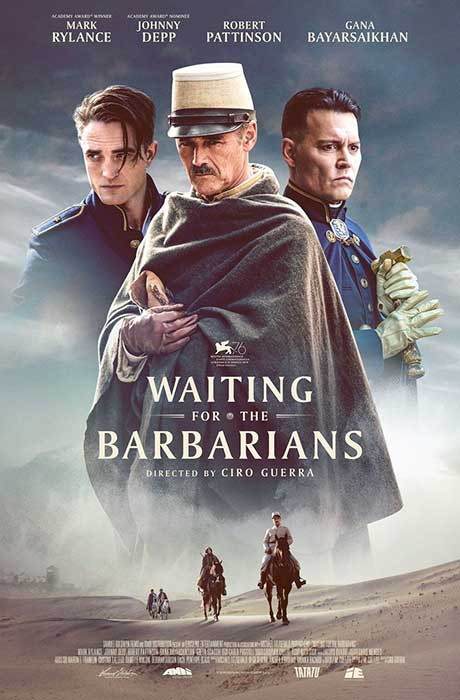Affiche officielle du film Waiting for the barbarians
